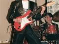 1996 maart 30e Motel Eindhoven middag. Optreden Duitse band Kon Tiki, Rhythmgitarist Manfred Driever (RIP).