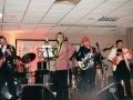 1996 maart 30e Motel Eindhoven middag. Optreden Duitse band Kon Tiki met zanger Gerti Jörling.