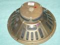 Oxford Gold 12T6 12 inch 8 ohm ceramic fan speaker, als gebruikt in de US Vox Essex, Westminster en Sovereign basversterkers 1965-1967.