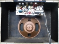 Plessey 1010 speaker 10 inch Alnico 3 ohm speaker, gebruikt in de Vox Domino Normal.