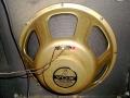 Jensen 15 inch Heavy Duty Speaker 4 ohm US zoals gebruikt bij Vox Kensington Bass V124 en V1241 1967.