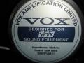 Vox Special 12 inch speaker 16 ohms 80 watt als gebruikt in de Chrome Series AD100VT, 412BK cabinet en de VT100.