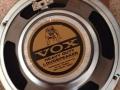 Vox label 8 inch Bulldog Heavy Duty speaker, als gebruikt in Vietnamese Vox Pathfinder V9168(R) (2002-2013).