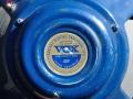 1961 VOX-JMI label T.530 Alnico Azure Blue 12 inch 8 ohm, 3 bolts, soldering op huis. Toegepast op AC15 en AC30. Als T.727 in 15 ohm uitvoering toegepast op AC30 Expanded en T60 Bass cabinet.