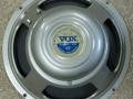 1964 Vox label T.1088 8 ohm Poly Grey MK1, 3 bolts, solderingen op het huis. Toegepast bij AC30, AC50 cabinet en AC100.