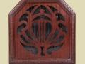 Celestion C12 luidspreker 1927. Prijs 6,50 pound en verkrijgbaar in eiken, walnoot en mahonie.