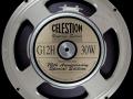 Celestion G12 H Vintage series 30 watt ceramic 70th Anniversary serie Ipswich label dus All British.