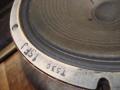 Celestion T.530 Alnico speaker Azure Blue 12 inch 8 ohm 1963, 3 bolts, soldering op huis, type stempels.  Data code 15FJ: (F=) juni (J=) 1964.