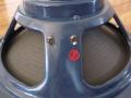 Celestion VOX-JMI  label T.727 Alnico Blue 12 inch, 3 bolds, soldering op huis, o.a. gebruikt voor T60 cabinet, 15 ohm sticker.