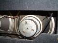 Grijze Celestion G12 Alnico speakers zonder kap, zoals toegepast in het Stolec AC30 model in 1970-1972.