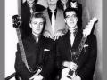 Vroege 1959 foto in de eerste Drifters samenstelling met Jet harris op bas en Terry Smart op drums.