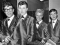 The Shadows met hun Fender gitaren met rosewood toets en chroom hardware.