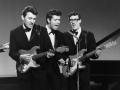 Cliff, Bruce en Hank in 1961.