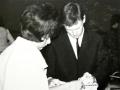 Brian Locking met fan tijdens de South Africa Tour 1963.