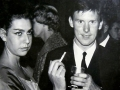 Brian Locking tijdens een afterparty  tijdens de South Africa Tour 1963.