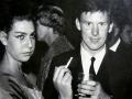 Brian Locking tijdens een afterparty  tijdens de South Africa Tour 1963.