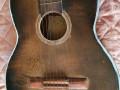 Framez Perla acoustische gitaar 1958, body front.