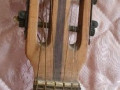 Framez Perla acoustische gitaar 1958, headstock front.