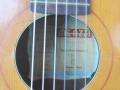 Meazzi Guadagnini acoustische gitaar 1962, label in klankgat.