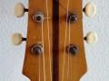 Framez Smeraldo Jazz guitar Naturel 1956, ontwerp Wandre, headstock front.