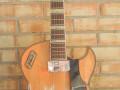 Framez Diamante semi acoustiche jazz gitaar 2 pickups 1956, 3 pots  in staartstuk, front. Gemaakt in Lombardije.