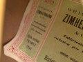 Framez Zimhermann Diamante, 1 pickup semi acoustiche jazz gitaar Sunburst 1955, label met serienummer.
