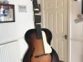 JMI-Jennings pre-Vox  Archtop gitaar 1958,  acoustic versie met slagplaat.