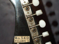 Kent Polaris-I (540), 1 pickup, headstock back.