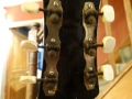 Pre Vox JMI Jennings Jazz Archtop in Hofner style 1963, headstock back.