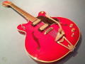 VG12 Transparent Red  Gretsch kloon uit Giant VSL serie 1971, made in Japan, front.