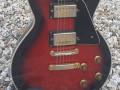 VG2  Red Sunburst 1970 LP kloon uit Giants VSL serie, body front.
