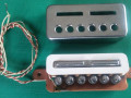 Welson Italy Alnico pickups voor Japanse Vox Giant serie ca. 5.8-5.9 kΩ., open.