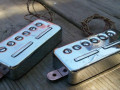 Set Welson Italy Alnico pickups voor Japanse Vox Giant serie ca. 5.8-5.9 kΩ.