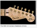 Detailfoto's Fender USA Custom Shop HM 40th Anniversary Edition 1996.