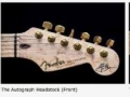 Detailfoto's Fender USA Custom Shop USA HM Autograph Edition 1995.