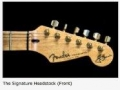 Detailfoto's Fender USA Custom Shop HM Signature Edition 1992.