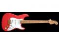 Fender USA Custom Shop HM Signature Edition 1992. Serie van 100 stuks in retail. Pickups: 2 * Seymour Duncan Vintage Staggered SSL1 plus op Bridgepositie een Di Marzio FS-1.