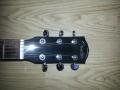 Kop voorzijde Fender HM Signature uit de Limited Edition serie GA (Grand Auditorium) 43 SCE zwart.