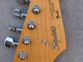 Headstock Front Squier HM Signature 1991.