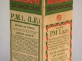 Mullard PM1 doos uit 1930, met BVA logo.