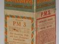 Mullard PM3 doos uit 1926-1927, nog geen BVA logo.