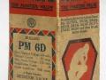 Mullard PM6D doos uit 1930, met BVA logo.