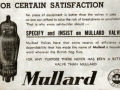 Mullard advertentie.