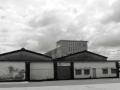 Mullard fabriek Blackburn opslagplaats gassen.