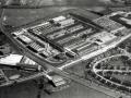 Mullard fabriek, luchtfoto van de Blackburn factory.