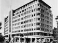 Mullard hoofdkantoor aan de Shaftsburry Avenue in London rond 1947.