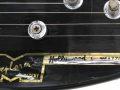 Meazzi Explorer gitaar uit de Hollywood serie 1965, headstock badge.