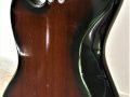 Meazzi Explorer gitaar uit de Hollywood serie 1965 Mahonie, body back.