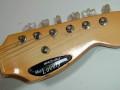 Meazzi Lovely gitaar 2 pickups  1965, headstock front.