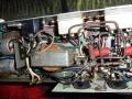 Meazzi Echoamateur PA 296, buizen eindtrap, circuit aan onderzijde.